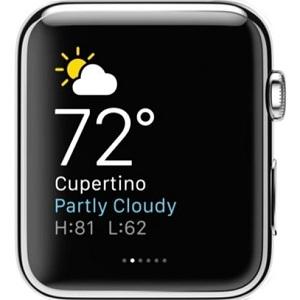 Apple Watch development overview - Think & Build - apple watch weather app - Apple Watch development overview – Think & Build