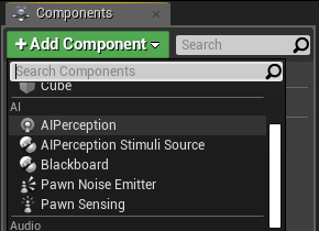 UE4 AI Perception System – with just a little bit of C ++
