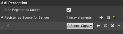 UE4 AI Perception System – with just a little bit of C++